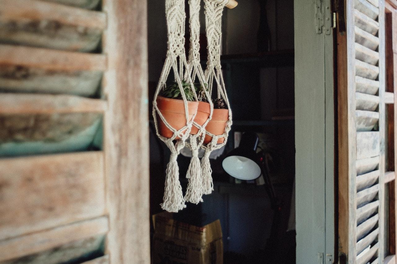 DIY Hängetöpfe für Pflanzen